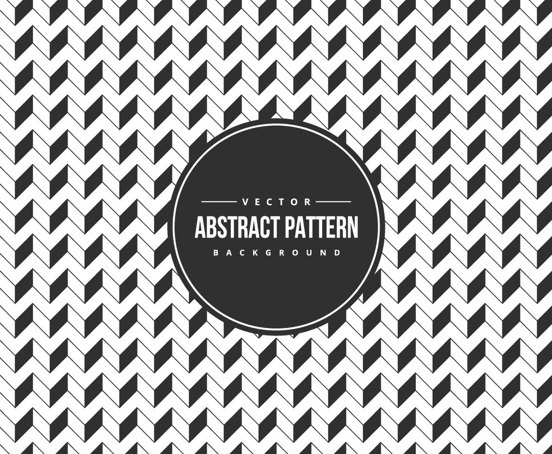 Black and White Abstract Geometric Pattern Background