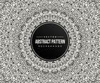 Abstract Mandala Pattern Background