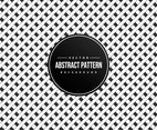Black and White Geometric Pattern Background