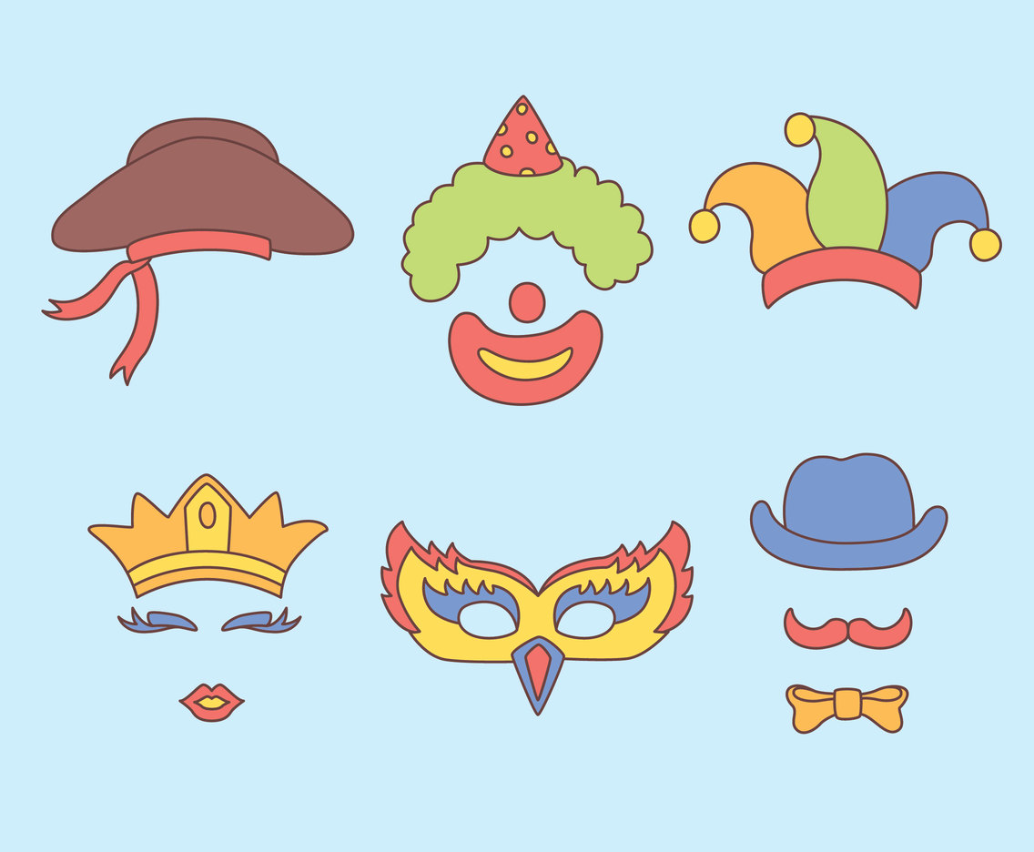 Party Costume Vectors