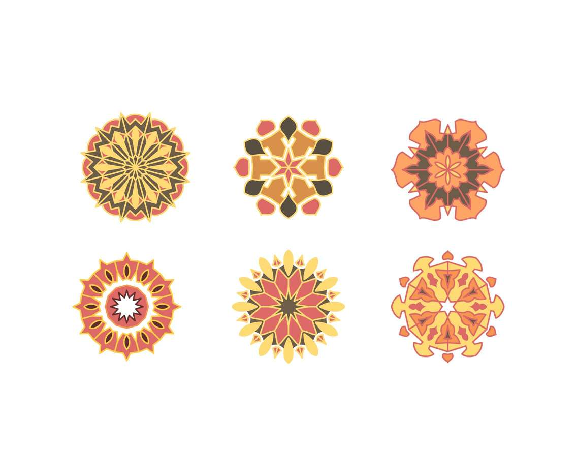 Free Unique Arabesque Vectors