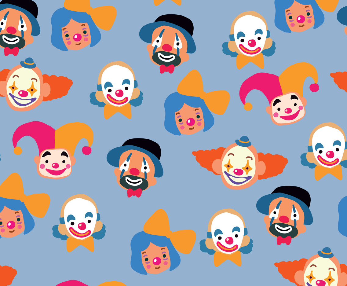 Jokers And Clowns Pattern