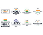 India Independence Day Vectors