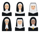 Nun Face Vectors