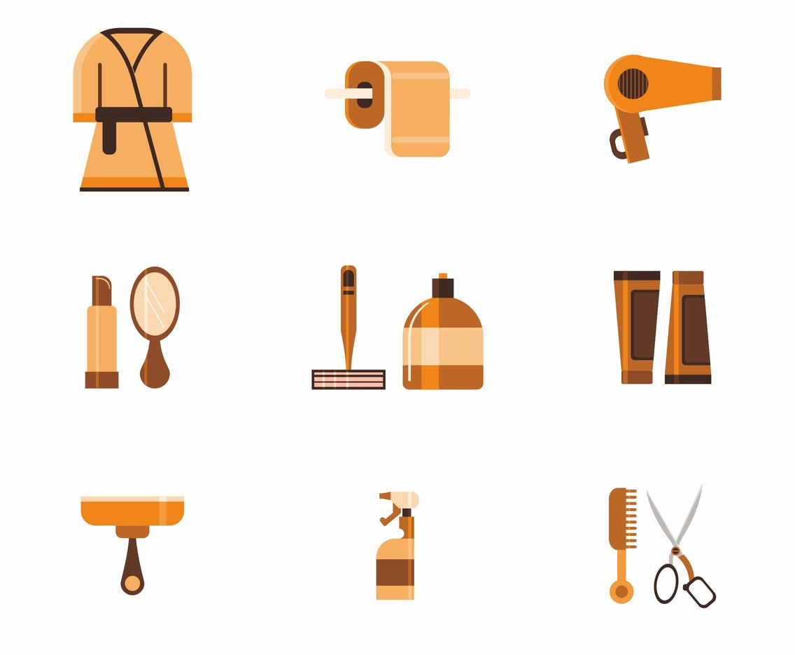 Bathroom Vector Icons