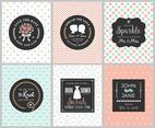 Wedding Card Vector Templates