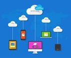 Cloud Computing Concept Vector Design