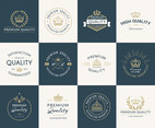 Premium Quality Vector Badges And Labels