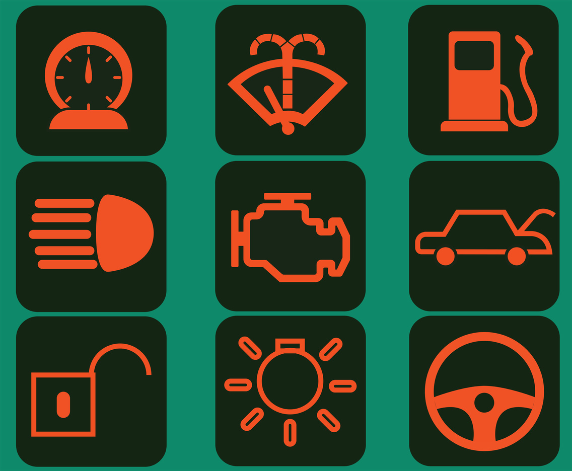 Car Dashboard Vector Pack