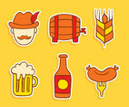 Hand Drawn Octoberfest Element Vector
