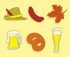 Sketch Octoberfest Element Vector
