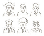 People Occupation Collection Vectors
