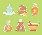 Nice Spa Element Collection Vectors