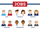 Occupation Jobs Business Icons