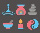 Spa Element Flat Vectors