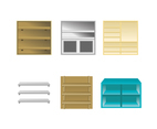 Various Shelf Vector