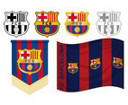 FCB Logo Vector Set
