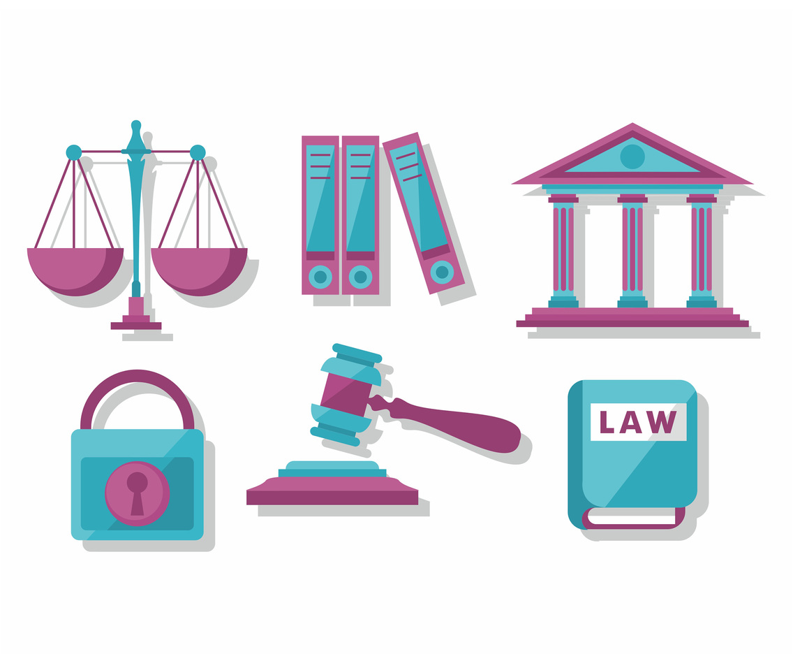 Lawyer Vector Icons