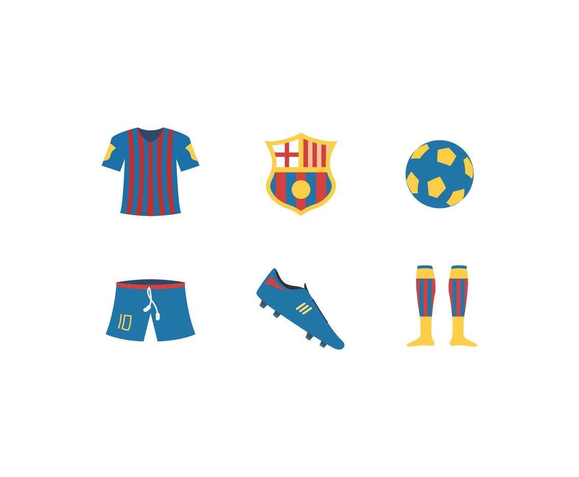 Free Barcelona Team Vectors