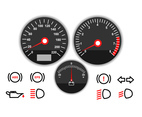 Simple Motorcycle Dashboard Icon