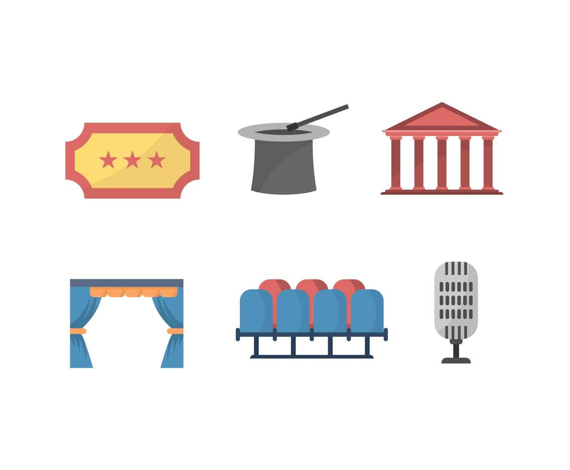 Free Outstanding Theatre Vectors