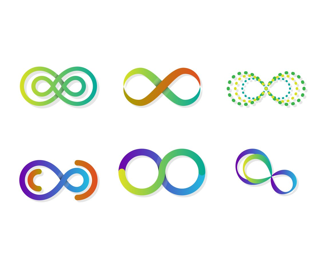Colorful Eternity Vector Set