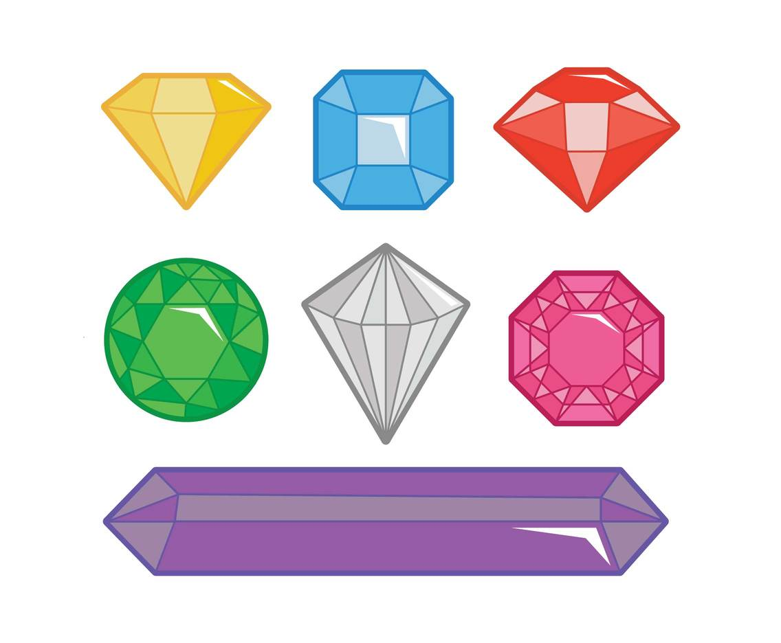 Gem icon set