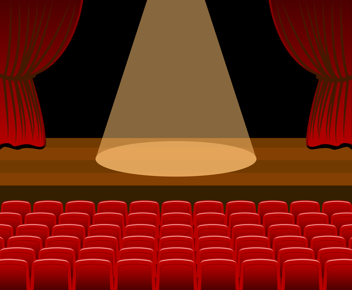 Theatre Stage Vector