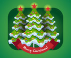 Free Christmas Tree Vector Illustration