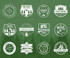 Retro Camping And Outdoor Adventure Logo Badges And Labels