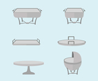 Catering Vessels Vector Pack