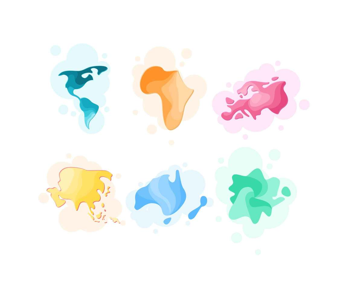 Free Unique Continental Vectors