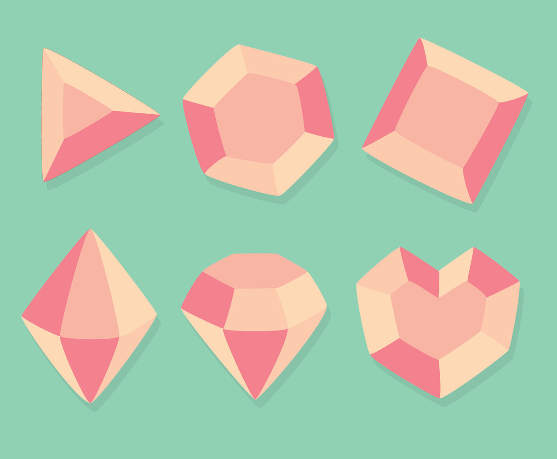 Pink GEms Collection Vectors