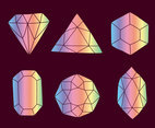 Rainbow Gems Collection Vectors