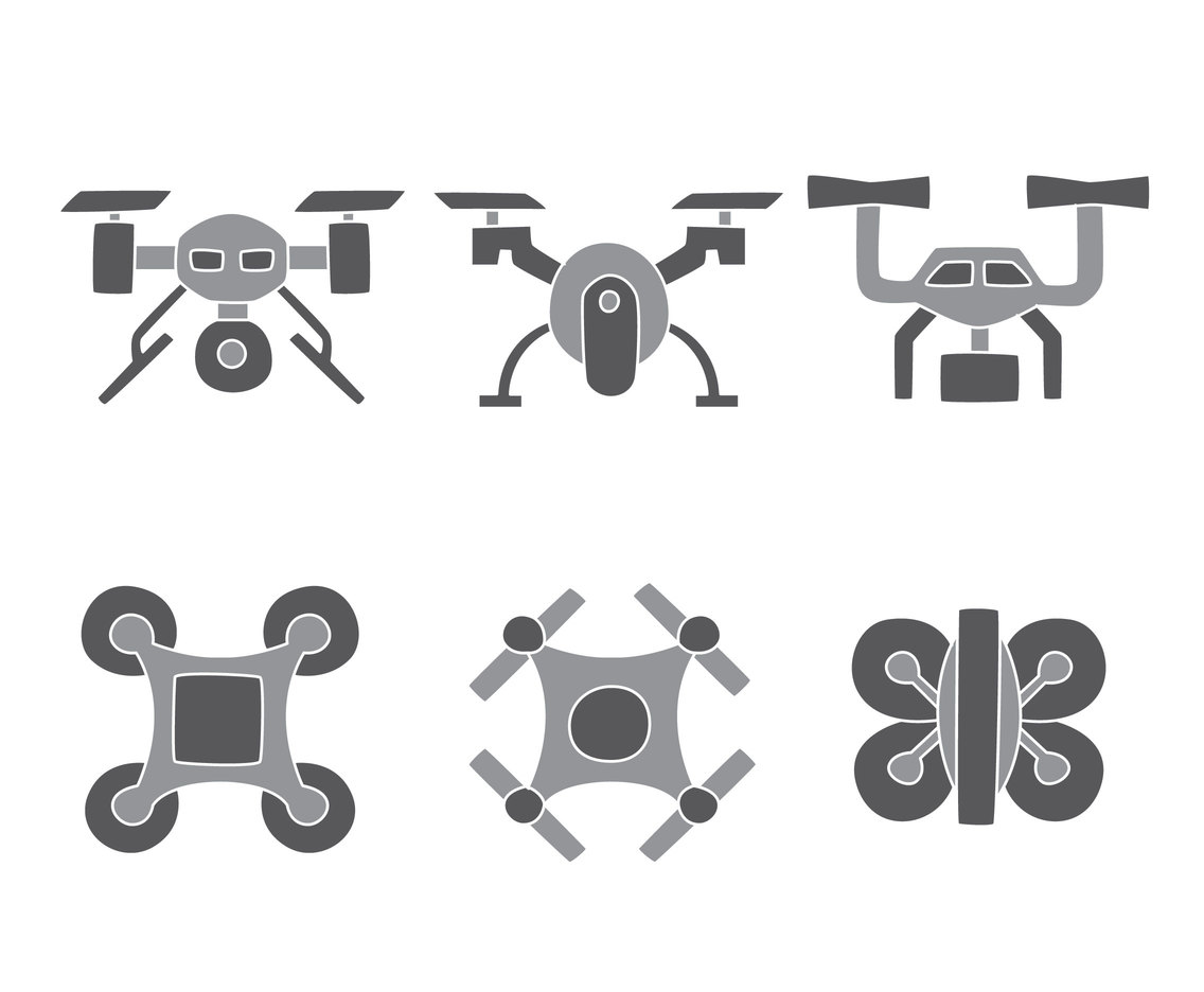 Drone Collection Vectors
