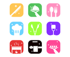 Catering Icon App Vector