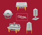 Catering Vessel Vector Pack