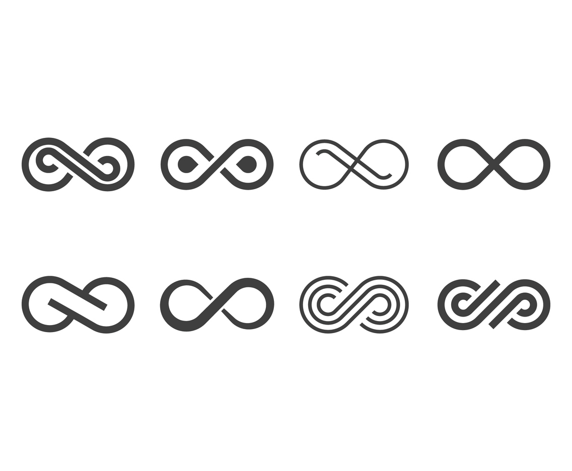 Infinity Symbol Vector Art Graphics Freevector