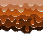 Melted Caramel Vector