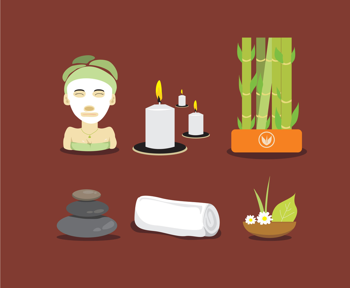 Relaxing Spa Vector