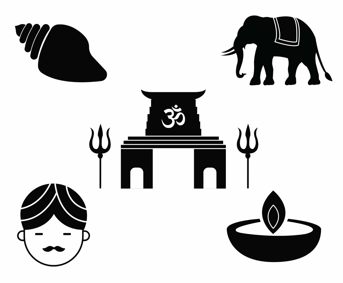 Hindu Icon Vector Pack