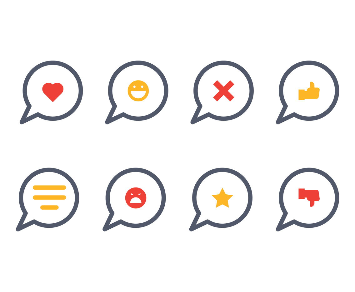 Feedback Icon Set