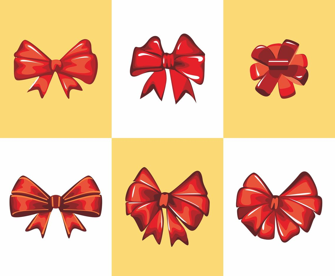 Red Ribbon Silk Vector