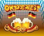 Oktoberfest Background Template