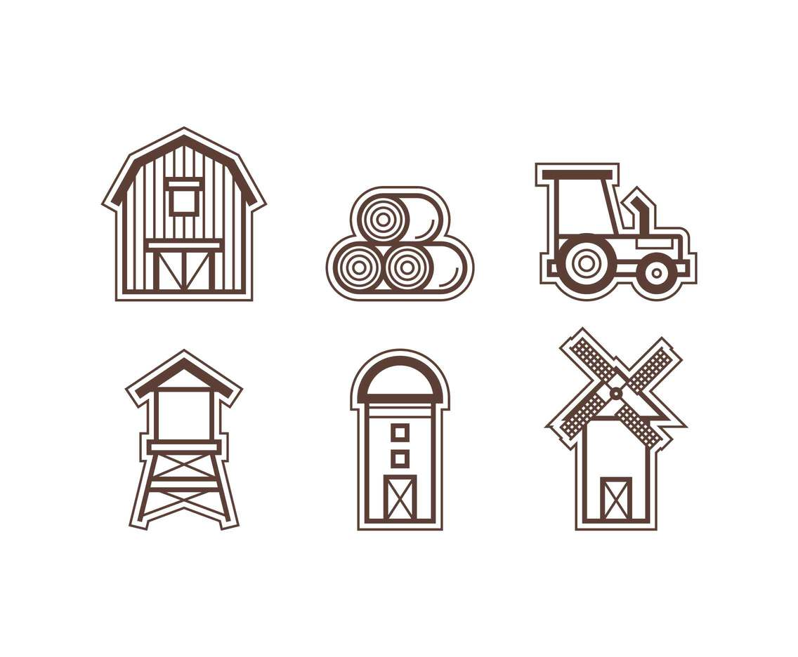 Free Outstanding Ranch Vectors