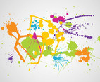 Colorful Splatter