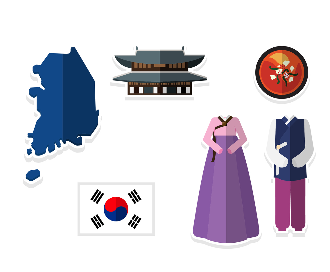 Cute Korean Cartoon Icons