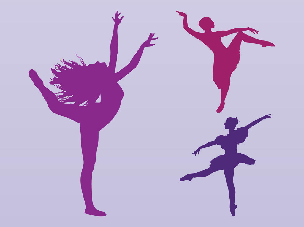 dancing girl silhouette - photo #14