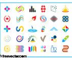 Colorful Logo Icons Set