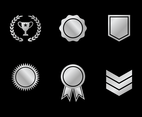 Platinum Badge Vector